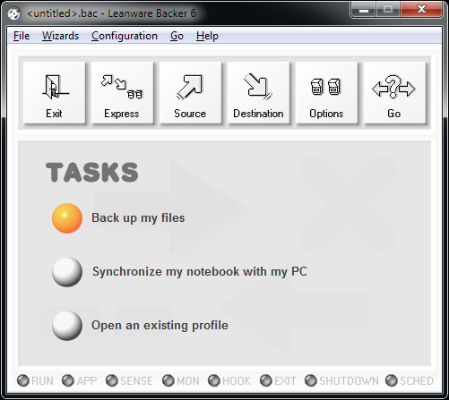 Click to view Leanware Backer 6.8 screenshot